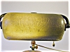 Click to view larger image of Handel Mosserine Glass Piano Lamp, Green (Image3)