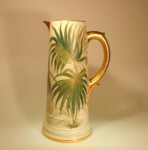 Click here to enlarge image and see more about item HandelWarePitcher: Handel Ware Tankard Pitcher
