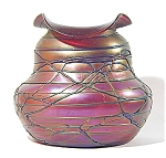 Click here to enlarge image and see more about item PallmeKonig81-2: Pallme Konig 9 inch Spectacular Vase