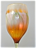 Click to view larger image of RareTiffany Studios Favrile Flower-Form Vase (Image4)