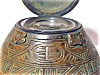 Click to view larger image of Tiffany Studios American Indian Inkwell (Image2)