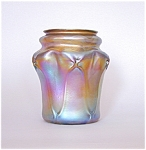Click here to enlarge image and see more about item TiffPruntVase: Tiffany Studios Favrile 7