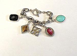 Contemporary Charm Bracelet (Image1)