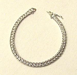 Sterling Tennis Bracelet (Image1)