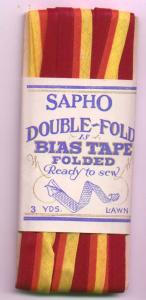 Sapho double fold bias tape in original package (Image1)