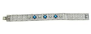 Edwardian Filigree Bracelet (Image1)