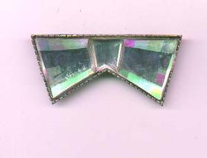 Art Deco bow pin (Image1)