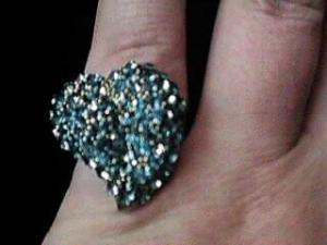 Hollycraft heart shaped ring (Image1)