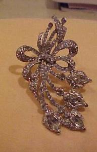 Art Deco floral brooch (Image1)