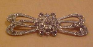 Art deco rhinestone pin (Image1)