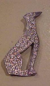 Rhinestone dog pin (Image1)