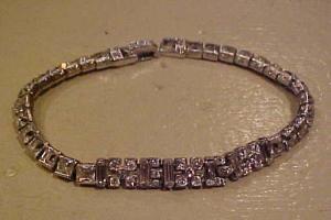 Ledo rhinestone bracelet (Image1)
