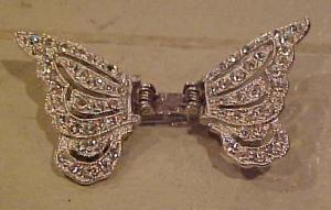 Ora rhinestone butterfly clip (Image1)