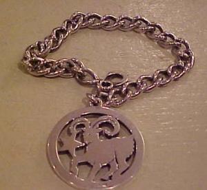 Sterling Zodiak charm bracelet (Image1)