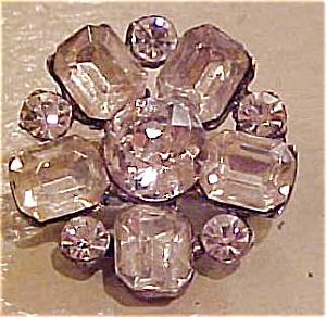 Snowflake rhinestone pin (Image1)