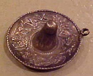 Sterling Mexican Hat charm (Image1)