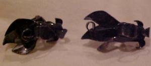 Silver earrings (Image1)