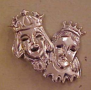 Sterling Lanz King & Queen Pin