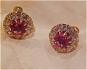 10k rhinestone earrings (Image1)