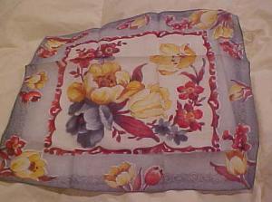 Floral handkerchief (Image1)