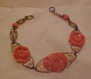 Brass & Celluloid bracelet (Image1)