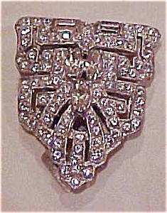 Rhinestone dress clip (Image1)