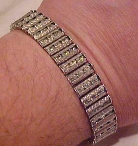 Art Deco Rhinestone Bracelet (Image1)