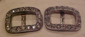 Pair of rhinestone buckles (Image1)
