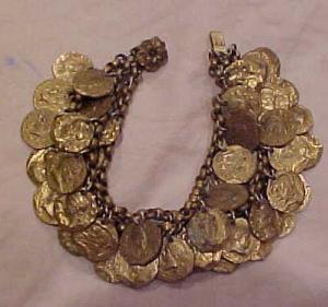 Czechoslovakian bracelet with coins (Image1)