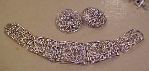 Sarah Coventry earrings & bracelet (Image1)