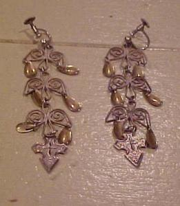 Danish sterling earrings (Image1)