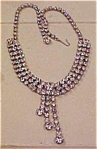Rhinestone necklace (Image1)