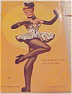 Dancing Girl pinup mutoscope card (Image1)