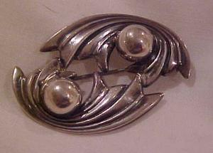 Sterling By Jewelart Pin