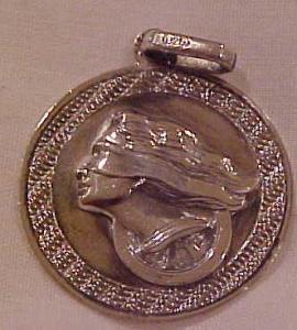 Art Nouveau Sterling Charm (Image1)