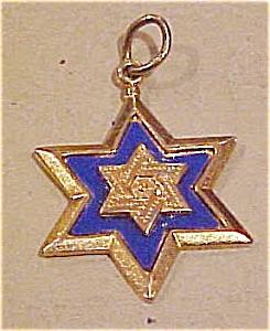Jewish Star charm (Image1)