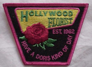Hollywood Florist patch/pin (Image1)