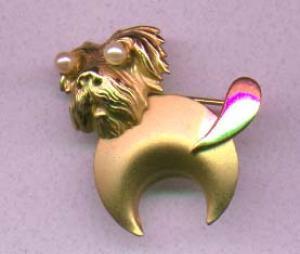 Schnauzer Dog pin (Image1)