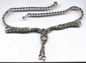 Sparkling rhinestone necklace (Image1)