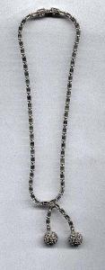 Pell rhinestone necklace (Image1)