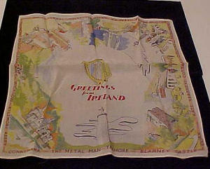 Greetings form Ireland handkerchief (Image1)