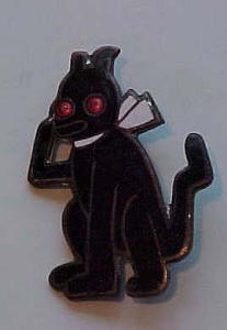 1920's enameled dog pin (Image1)
