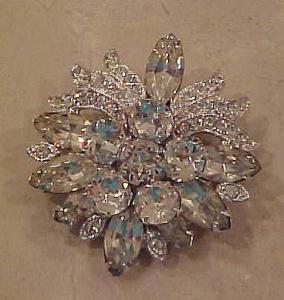 Eisenberg Ice rhinestone pin (Image1)