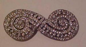 Coro Duette rhinestone pin (Image1)