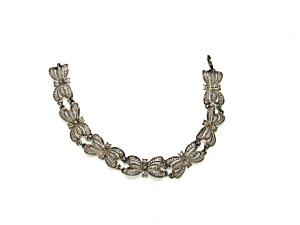 German Silver Bow Design Bracelet (Image1)