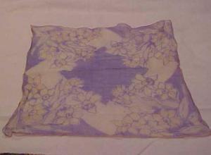 Chiffon floral handkerchief (Image1)