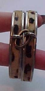 Double Faux Leopard Bangles (Image1)
