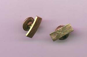 Victorian gold filled cuff links (Image1)