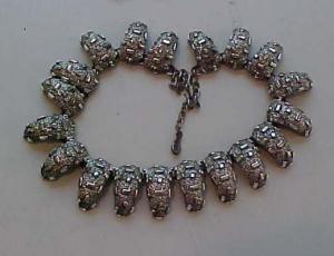 Tortolani silver fringe claw necklace (Image1)