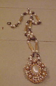 Miriam Haskellesque necklace with locket (Image1)